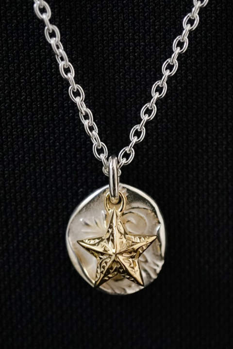 【受注生産モデル!】day breaker pendant 【daylight and star】