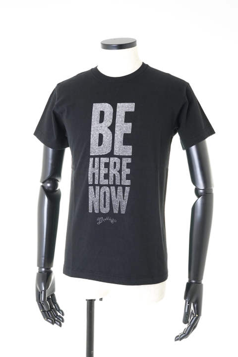 S/S Raffi Jersey T-Shirt #BE HERE NOW【即日発送可能!】