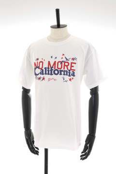 【即日発送可能!】PIGMENT DYED JERSEY T-SHIRT #NO MORE CALIFORNIA