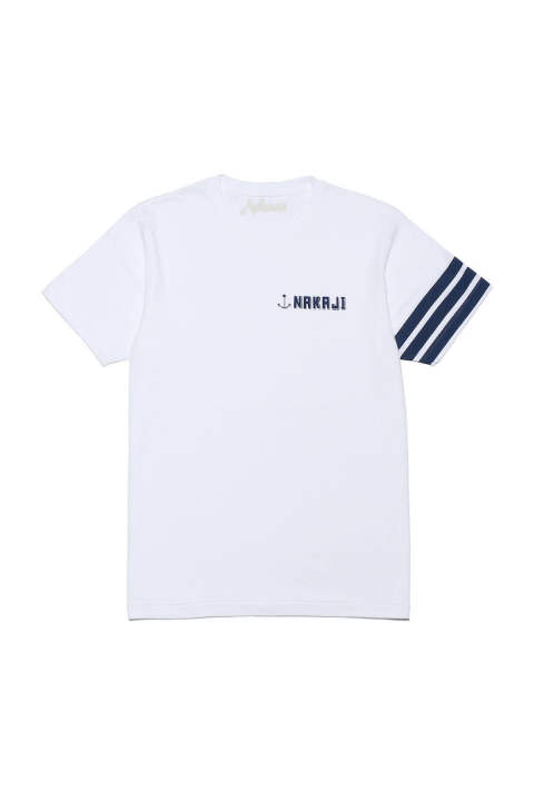 S/S ROUND NECK T-SHIRT (3LINES)(9月~10月入荷予定)