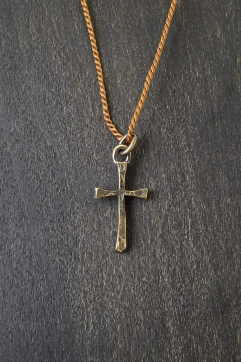 decayed cross Brass and silk【即日発送可能!】