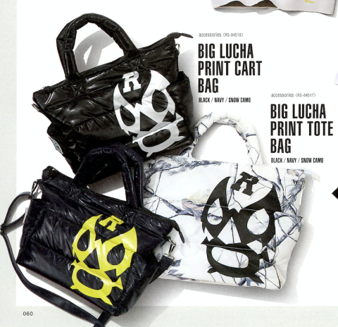 【先行予約アイテム】BIG LUCHA PRINT CART BAG