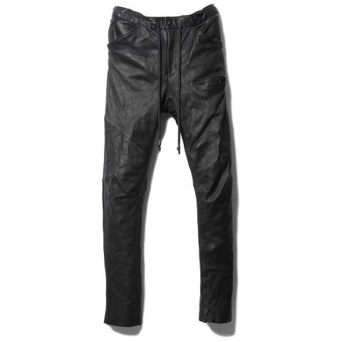 SLIM EASY LEATHER PANTS【即日発送可能!】