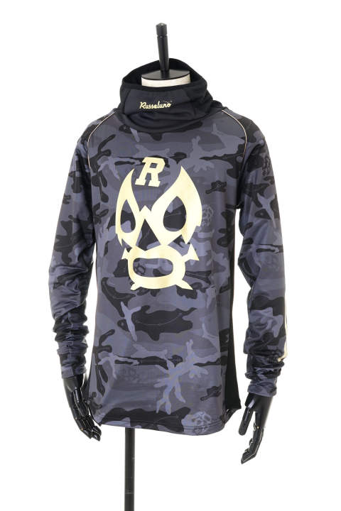 MASK HIGHNECK LS(CAMO)【即日発送可能!】