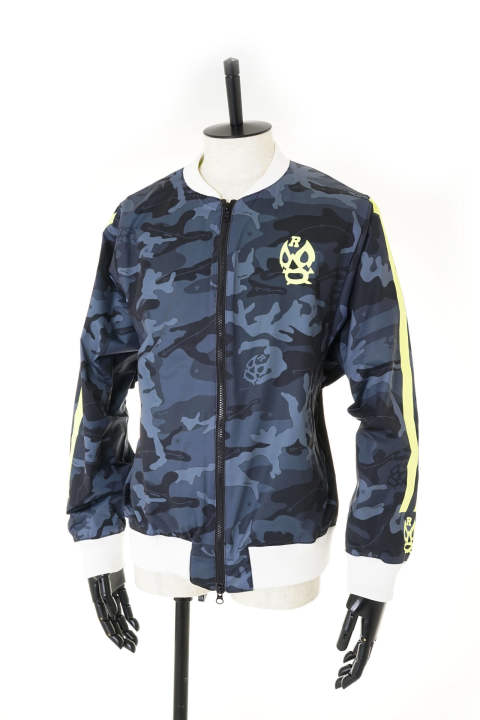 ZIP UP BLOUSON (CAMO)【即日発送可能!】