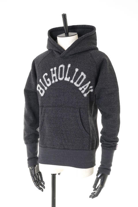 BACK-FREEZE NEEDLE PUNCH HOODIE(BIGHOLIDAY)TSWF1803 【即日発送可能!】