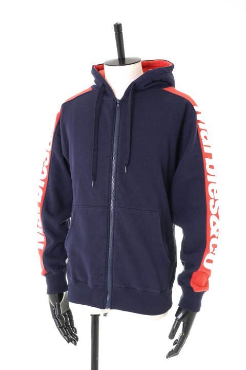 SIDELINE ZIP UP HOODIE / サイドライン ジップアップパーカー MHP-A1805 【即日発送可能!】