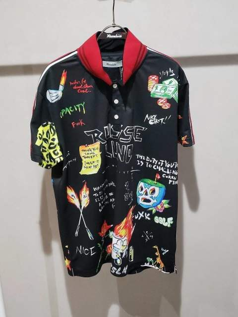 CRAZY PAINT POLO【先行予約アイテム(4月入荷予定)】