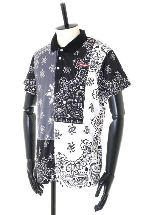 CRAZY PAISLEY POLO【即日発送可能!】
